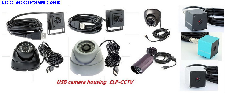 2.8mm lens 1.0megapixel 720P HD USB Camera module for machine vision systems ELP-USB100W03M-L28