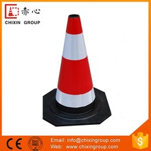 Easy-To-Handle High Solid Rubber Cone For Road Safety