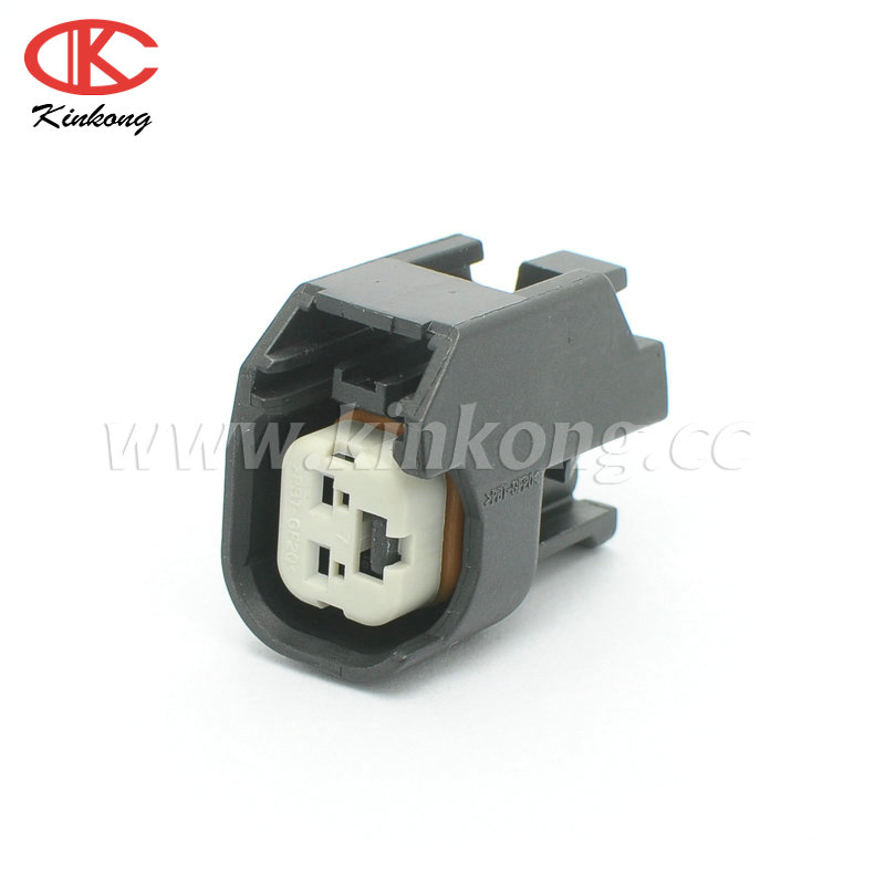 Delphi 2 Pin Female Automotive Connector Pbt Gf20 View