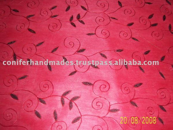 Embroidered Non Woven Paper