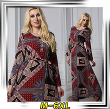 Muslim Modern women dress latest burqa designs of plus size maxi dress 5069