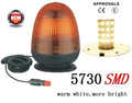 New Super Bright LED Warning light, Car Warning Beacon(KF-WB-25EM),Warm White High Power 5730 SMD LED,With Magnet