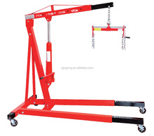 2ton factory supply shop engine crane car repair tools