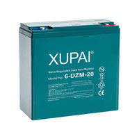Lead Acid Rechargeable Batteries 12v 20ah