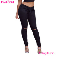 Factory Price Black Long Wholesale Jogger Women Cheap Cargo Pants