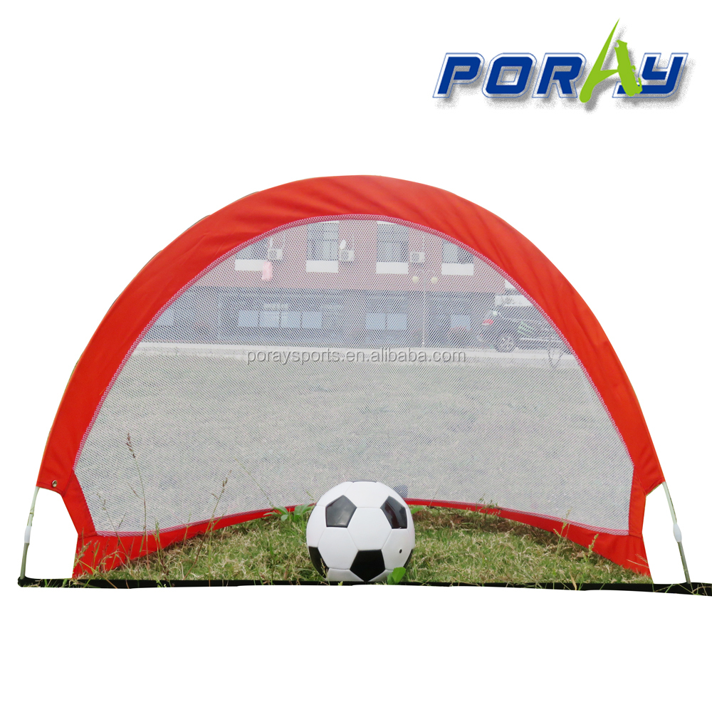 Poray 4 Footer Portable Training Goal Pop Up Soccer Goal WithCarry Bag Two Color Choice