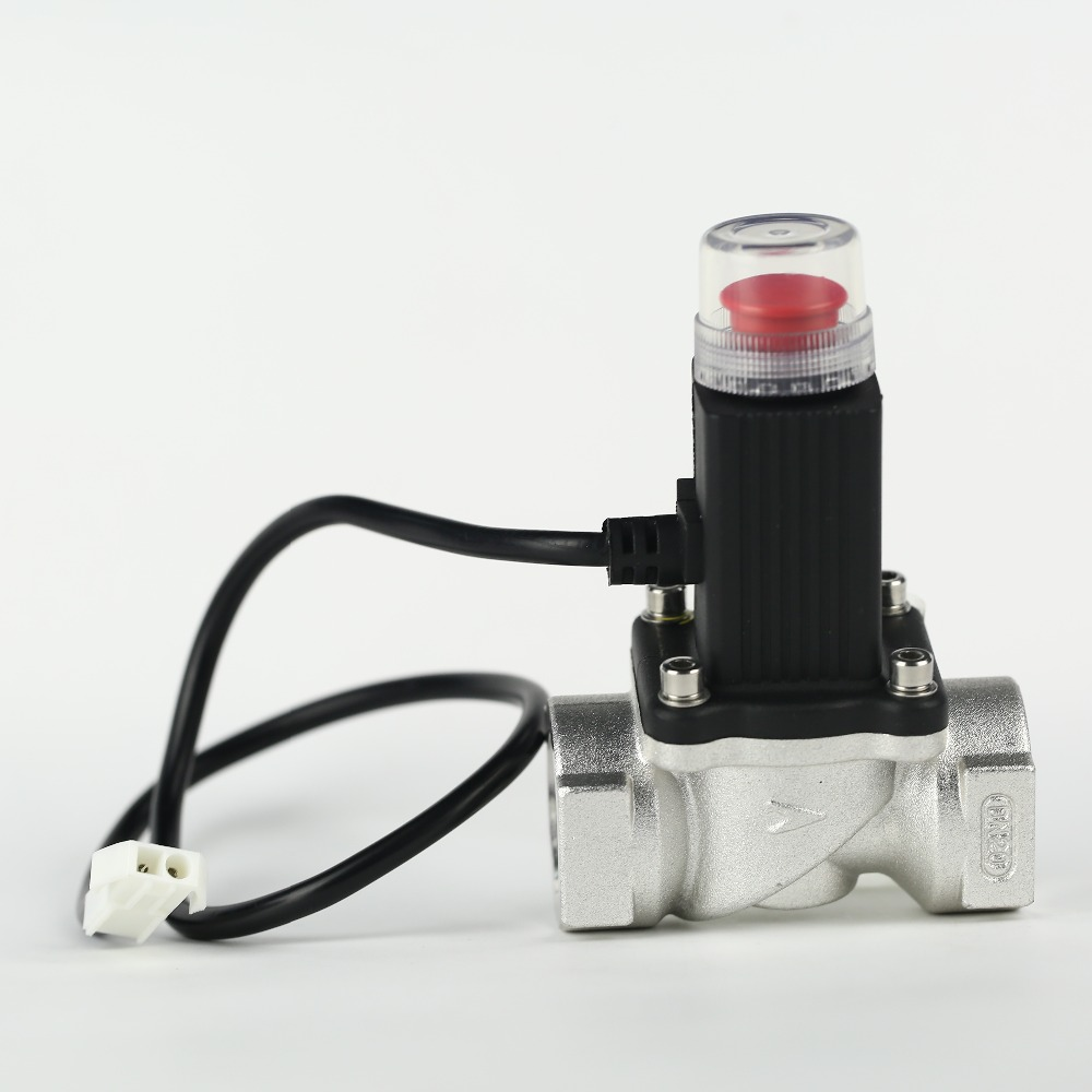 Domestic use natural gas solenoid valve for 1/2""