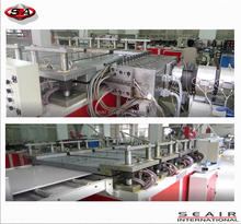 wpc fence whole production line, WPC Wide Board Making Machine, PVC Panel Making Machine