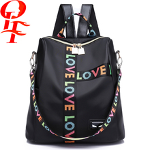 branded women's fashion practical anti-theft backpack