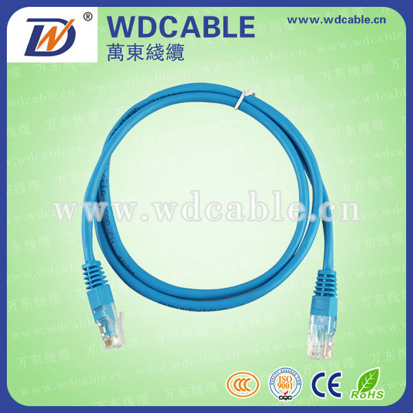 Best price cat5e CCA patch cord cat 6 30cm patch cord cable1 meter utp cat.5e patch cable