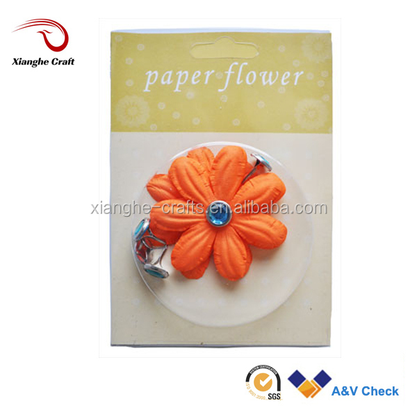 mini paper flower flower petals for halloween decoration