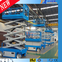 Mobile Hydraulic Scissor Elevator Self Propelled