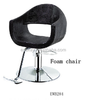 Cheap barber chair black salon furniture