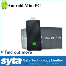New Quad core Android mini pc wifi smart TV box dongle RK3188 A9 Android 4.2 TV stick 2G 8G tv