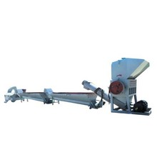 Zhangjiagang manufacturer pet hot crushing washing line