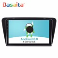 "DASAITA Android 8.0 10.2"" touch screen car radio GPS multimedia navigation system player for Skoda Octavia 2014+"