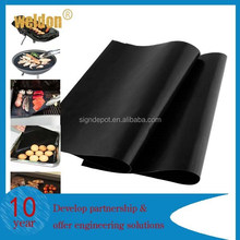 2pcs Non-stick BBQ Grill Mat Barbecue Baking Liner Teflon Cooking Sheet Reusable
