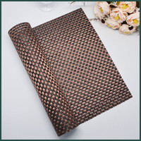 woven pvc placemat indoor ground mat beach chair rattan by roll vinyl pvc non slip bath room mat