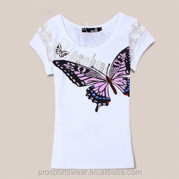 New fashion white t shirt with collar images
