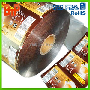 laminating packing film roll for coffee