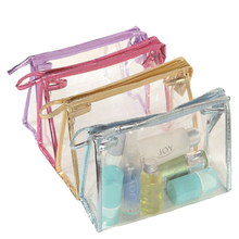 PVC materail eco-friendly cosmetic bag cosmetic travel bag