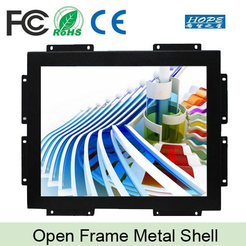 "HDM I open frame industrial LED backlight square screen 19"" inch monitor"