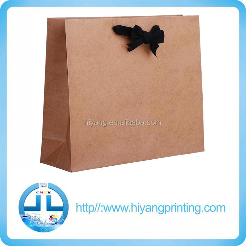 Guangdong Guangzhou fancy carry paper bag for fashional women dress shopping bags