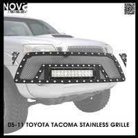 2016 New Product Car Accessories Toyota Tacoma 05-11 Stainless Steel Wire Mesh Black Grille