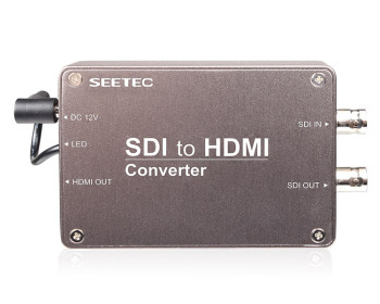 Support HD-SDI/SD-SDI/3G-SDI Signals,up to 1080p SDI to HDMI Mini Converter