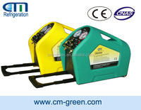r134a car refrigerant recovery recycling machine / a/c service station