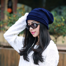 Women Fashion Winter Warm Hat Girls Crochet Wool Knit Beanie Warm Caps