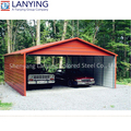Best quality promotional Residential Steel Garage Buildings with low price