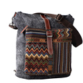 new arrival messenger ethnic bag with leather strap for customized from guangzhou alibaba