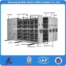 2017 Mobile shelving office furniture steel modular metal shelving filing mobile cabinet