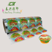 Chaoan easy peel foil laminated sealing film for jelly cup
