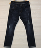 GZY factory overruns demin stock new brand fashion men's jeans pants