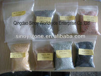 Natural granite marble sand and gravel