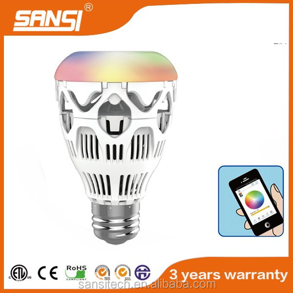 Color Changing with Music rhythm Full Color Light LED Bulb Light
