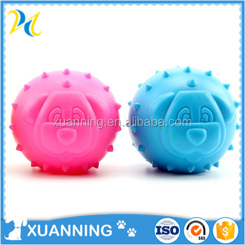 2016 new style hot sale ball toy dog animated toy dog tpr toy ball for dog