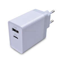 EU US UK AU plug 5V 3A /9V 2A / 12V 1.5A Type c TYPE-C USB-C QC3.0 single USB wall charger with CE FCC ROHS