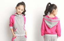 d60167h 2015 autumn children's sports suits old children's sport suits boys and girls suit uniforms