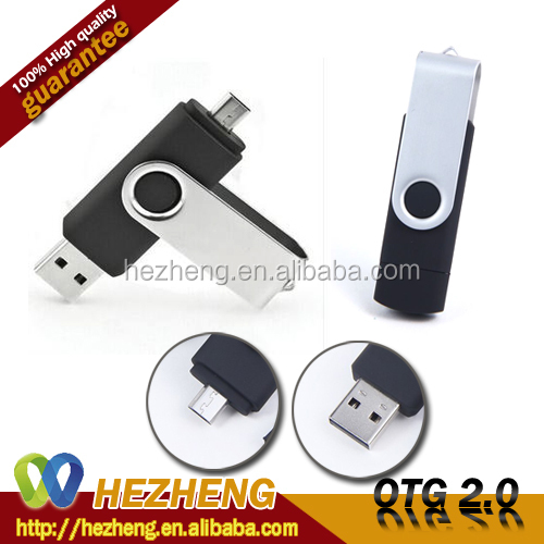 H2 Test Flash Drive 16GB OEM OTG Micro USB Pendrive batch of key usb not expensive Customized Bulk items Logo Free Samples