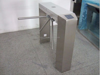 Fingerprint Recognition and RFID vertical full automatic tripod turnstiles/gate access control turnstile system