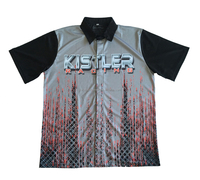 Custom Sublimation Motor Sport Racing Team Pit Crew Shirts