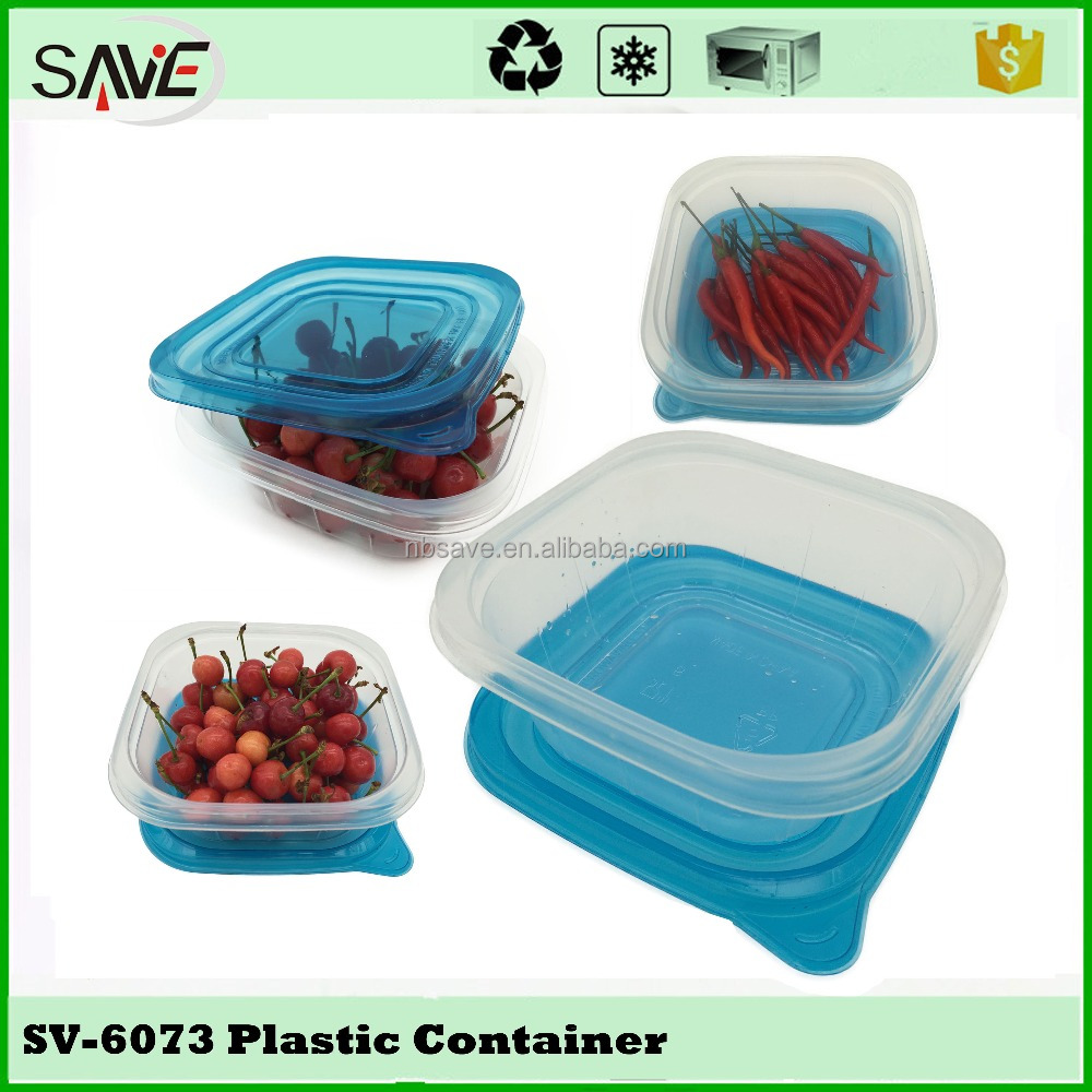 China free sample creative Kitchen Bpa Free Disposable Oven Safe Food Container