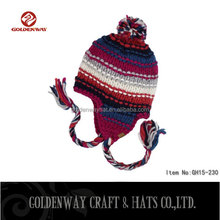 New Fashion Good Looks Custom Beanie Hat With Ear Muff