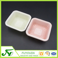 Food grade PP colored disposable plastic food packaging container