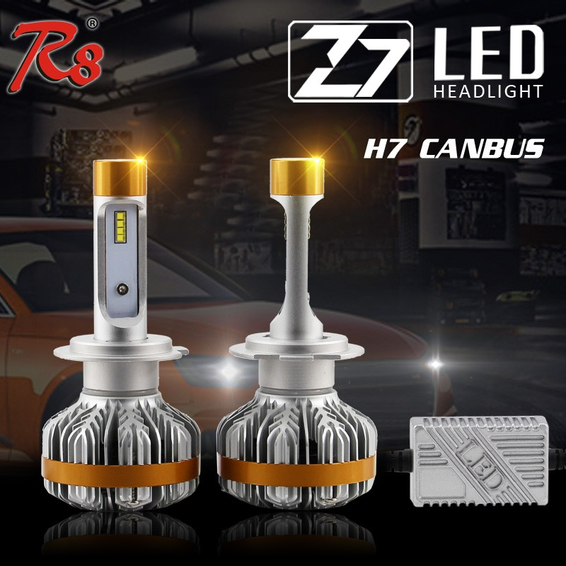 Z7 Auto car led headlight 35w 55w 75w 12v 24v philip led light price list 2016 H7 H11 for qashqai accessories