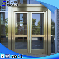 Top quality commercial aluminum glass door frame