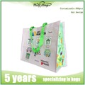 Wholesale promotional fabric pp non woven bags , eco shopping gift bag